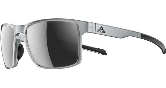 adidas Wayfinder Pyöräilylasit , harmaa/hopea